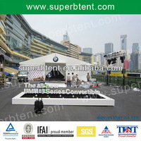 outdoor exhibition white BMW tent for excellent design