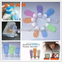 Unique Travel Gifts/Airline Civilized Carry-on Silicone Travel Bottle 89ml Container For Shampoo Lotion&Cream