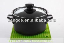 Green Silicone Mat Kitchen Ware