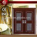 S-105 de bajo precio de una sola puerta de acero, la puerta de entrada, de alta calidad