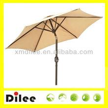 tilt mechanism garden aluminum hanging umbrella