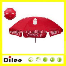 coca parasol cola outdoor umbrella