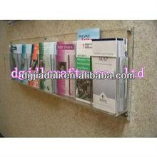 acrylic wall brochure a4 holder,a4 acrylic document holder