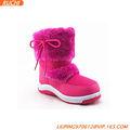 Fuxia crianças sapatos de neve