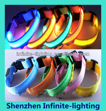Super brightness illuminated dog collars/Sublimation dog collar