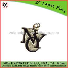 custom made metal zipper pull for sale/ large zipper pull