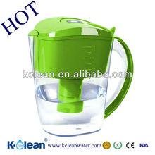 3.5L low negative ORPand BPA free alkaline water filter jug