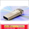 2013 Latest personalised awesome pen drive can connect mobile phone directly cheap with your logo and with phone charger