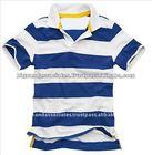 Men's Casual Striped Polo Shirt
