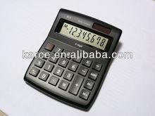 8 Digits Dual Power Mid Desk Top Calculator