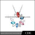 colorido n0154a piedra fina joyería de china