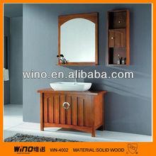 moderni in legno massello mobiletto del bagno di vanità bagno
