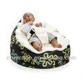 Desen sıçrama Bebek Toddler Fasulye çuvalı koltuğu, yüksek kaliteli çocuk Beanbag üst örtüsü üstleri 2 ile