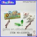 Baixo preço pequeno brinquedo animal de fazenda plástico