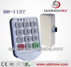 Metal shell Electronic digital lock for lockers (DH112-Y)