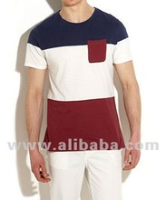 Mens Fashionable Custom made Cut and Sew t-shirts and tops