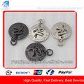 cd8079 de lujo de metal de diseño de etiquetas y etiquetas para el bolso decorativo