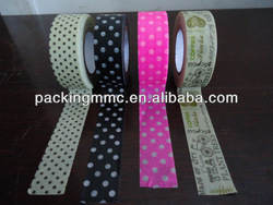 Hot sales!!! rice paper masking tape for decoration