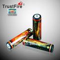 trustfire 3.7v 18650 3.7v اسطوانة 2800 ماه قابلة للشحن بطارية ليثيوم أيون مع سعر المصنع