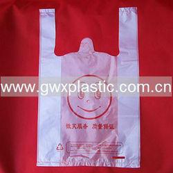 Fruit t-shirt plastic bag