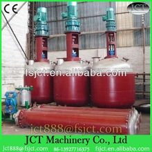 Machine for producing waterproof glue for plastic