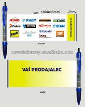 BINT00805 Advertisement plastic ball pen