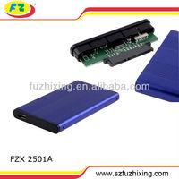 2.5 hdd enclosure USB 2.0 SATA Hard Drive Case / hard drive carrying case