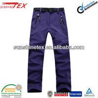 Adult high functional pants, waterproof softshell pants(13K009)