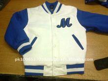 Cotton varsity jackets/ all cotton jacket, customize cotton jacket, 2015 cotton varsity jackett