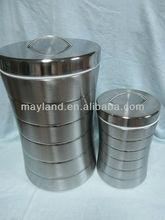 Rice Bin, Belly shape rice box, Stainless steel rice box