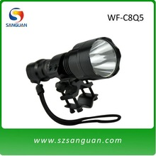 200 lumens led flashlight night hunting rechargeable flashlight