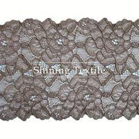 15-20cm Stretch Nylon Spandex African Trim Lace For Underwear