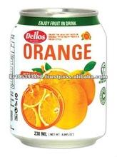 Dellos Fruit Juice ORANGE JUICE WITH SAC 238ml