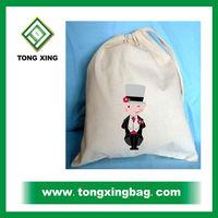 drawstring cotton sack bag