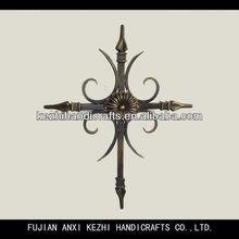 antique iron christian cross