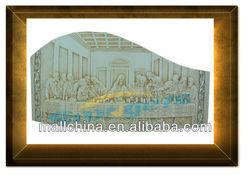 Polyresin handmade religious Icon