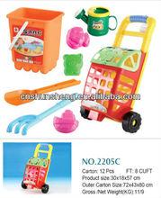 Water Summer Toy Beach Cart Tires ,Sand Beach Cart Toy For Kids