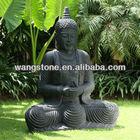 Hand carved Thai style stone buddha art garden statue