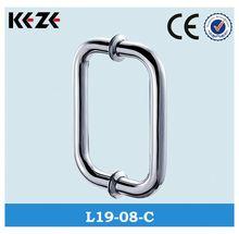 L19-08 Handle& sliding glass shower door handles $ glass door fittings