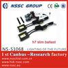 2013 new NSSC xenon kit h7 slim ballast for sale