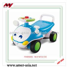 Best Gift For Children Blue Cartoon With Music Lighting Baby Sliding Cars