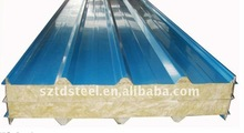 Rock wool roof sandwich panel