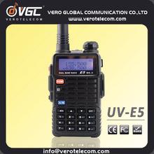 Police Guard Ham Radio Dual Band Transceiver Handheld VHF UHF FCC Talkie Walkie