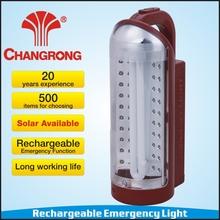 CR-1066D 40 Led + 11W U-tube emergency lantern charged solar panel price India