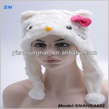 Good Quality Fashion And Warm Faux Fur Animal Hat