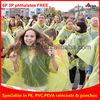 disposable plastic poncho, disposable rain poncho, disposable cape plastic rain cape poncho