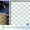 yüksek teknoloji Paslanmaz çelik halatlı örgü ağı dekorasyon amaçlı