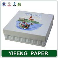 Large cardboard paper decorative storage baby keepsake box wholesale