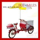 Custom cargo tricycle for ice creame in hot sale!model MH-064