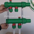 agua de colectores de calefacción por suelo radiante sistema